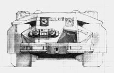 Here's a great selection of Ron Cobb's concept art for the Colonial Marine Corps' Armored Personnel Carrier. Concept Draw, Alien Concept Art, Nostromo Alien, Aliens Colonial Marines, Giger Alien, Arte Alien, Aliens Movie, Sci Fi Films, Alien Vs Predator