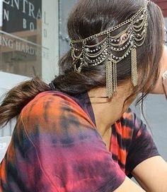 Chain hair DIY