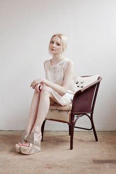 Swan Silk Shift Dress. £89.00, via Etsy.