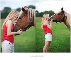 www.elizabethnord..., Elizabeth Nord Photography, senior girl, country, willow tree, violin, horse, field, pond