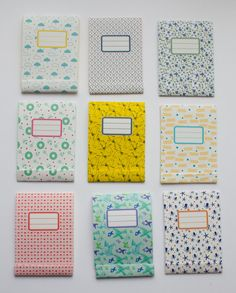 Custom notebook and big notepad  pack of 2 one by vertceriseshop, €10.00