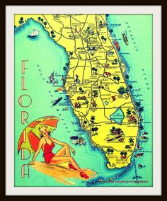 78 Best Florida Maps images