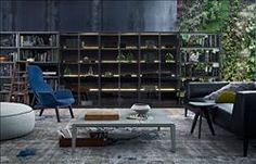 Poliform Bookcases Wall System