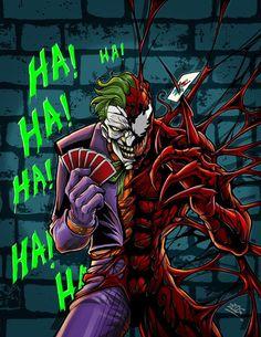 seria la perfección del mal #Carnage #Joker