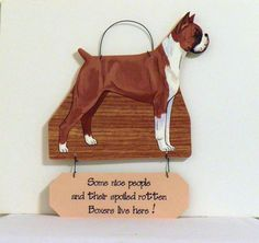 Boxer fawn Cr nice peoplespoiled dogs here funny by craftypetstuff, $12.00