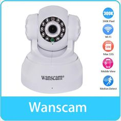 44.19$  Buy here - http://aimee.worlditems.win/all/product.php?id=32763013421 - WANSCAM P2P Surveillance Wireless Wifi Two-way Audio Remote Rotate Motion Detection Network Sensor Night Vision IP Camera