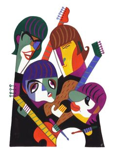 Poster:Rock-The Beatles Caricature Poster Dos Beatles, Les Beatles, Beatles Art, Art And Illustration, Illustrations, Arte Pop, Pop Rock, Rock And Roll, The Fab Four