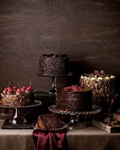 :  Chocolate Seduction Cake shadow light on the right and lose the cloth and ad big sunflowers an tada