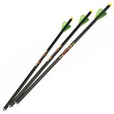"Xbow Bolt Excalibur Firebolt Crossbow Arrows 20/""  6 Pack W//Flat Nock"