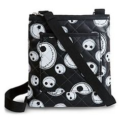 Disney Jack Skellington Crossbody Bag | Disney StoreJack Skellington Crossbody Bag - Jack Skellington is Halloween Town's head of fashion as the Pumpkin King's grinning face adorns this Crossbody Bag. The quilted leatherette design is frightfully chic and the ideal haunt for all your essentials.
