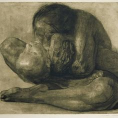 KÄTHE KOLLWITZ Kaliningrad Russia 1867-1945  Woman with Dead Child 1903 Etching.  After all that has been in the news papers Internet!! I felt I had to acknowledge it. I know this is now old news by now but I felt emotionally raw every time I thought about it. I know I'm an sensitive and sometimes over whelmed by such horrific stories. But I think everyone felt for the poor children and relatives who drowned. I will be doing a little bit here in Ireland to help but this is not about that…