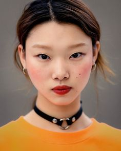 """"""" Street style: Bae Yoon Young at SFW Spring 2017 by Ahn Hong Je """""""