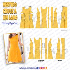 Dress Making Patterns, Easy Sewing Patterns, Clothing Patterns, Diy Fashion, Ideias Fashion, A Line Skirt Outfits, Simple Summer Dresses, Sewing Courses, Evening Dresses Plus Size