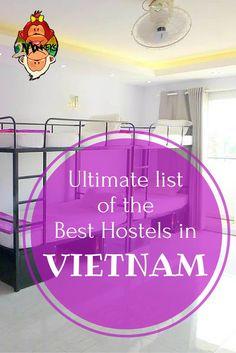 Ultimate List of The Best Hostels in Vietnam