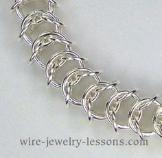Queen's Link Chain Maille - You do have to pay for the tutorials - but they  look like they are worth it
