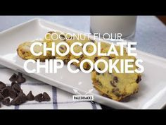 Looking for some tasty Paleo cookies? Look no further than our coconut flour chocolate chip cookies - made completely grain free and gluten free.