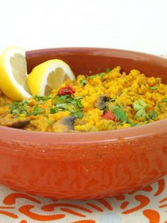 Mixed Vegetable Paella Recipe