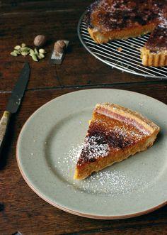 The Wandering Girl: Tarte au potiron - quand les légumes s'invitent au dessert part.3 (pumpkin pie)