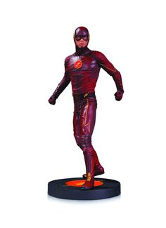 DC Collectibles CW The Flash Statue TV Series Show Grant Gustin for sale online Hot Toys Flash, The Flash, Comic Book Heroes, Comic Books, Flash Tv Series, Midtown Comics, Geek Games, Fastest Man, Dc Characters