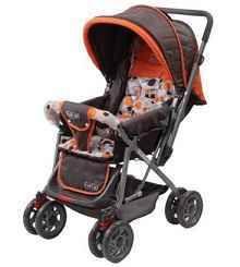 Luvlap Sunshine Baby Stroller 1003 B - Orange At Rs.2799