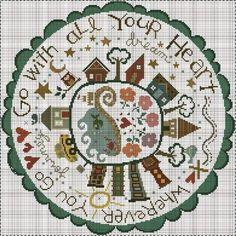 """...de Bent Creek Dedicado a Montse Con un mensaje precioso ... ... """" Allá donde vayas,ve con todo tu corazón"""" Te..."""