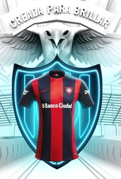 This is the new San Lorenzo jersey 2016, Argentine club San Lorenzo de Almagro's new home shirt for the 2016 season. Made by Nike, it was first revealed via the US retailer's app on 8 J…