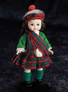 Madame Alexander Scottish Lass
