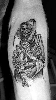 Grim reaper tattoo                                                                                                                                                                                 More