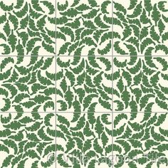 """Jeff Sholotn's Leaf Foliage tile designs  All tiles are 12"""" x 12"""" and 1.8 cm thick"""