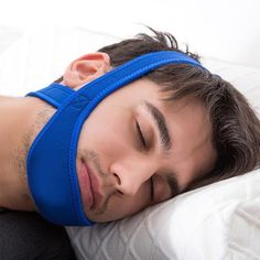 Our Anti Snore Chin Strap is a comfortable and effective way to stop snoring. The strap fits comfortably around your head and chin while you sleep to correct your jaw and help prevent snoring and sleep apnea. Get the good night's rest you deserve!