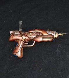 Sohn Steampunk Vibrator Pistole Mädchen