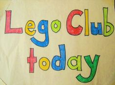 Our LEGO Brix Club: How to set up a LEGO Club at home