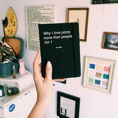 Why do you love pizza more than people?? Tag a friend who needs this journal and get yours on JACVANEK.COM now!