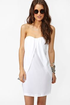 white summer dress <3