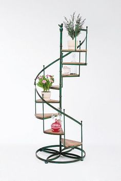 Kare support pour plantes forme escalier for Support de plantes d interieur