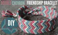 DIY#9-Double Chevron Friendship Bracelet-a