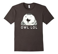 Laughing Owl LOL shirt