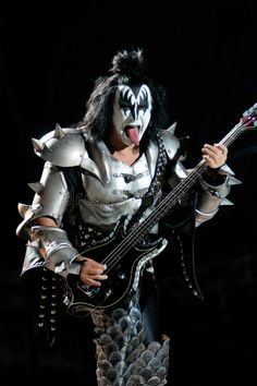 KISS. Gene Simonds as The Demon from the rock group KISS , #affiliate, #Simonds, #Gene, #KISS, #group, #rock #ad Kiss Group, Kiss Costume, Z Music, Kiss Band, Hot Band, Homemade Costumes, Rock Groups, The Rock, Hard Rock