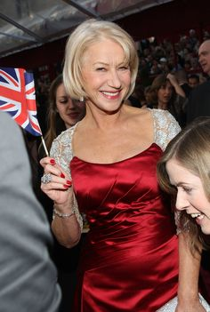 Dame Helen Mirren - British acting royalty and great fun too.
