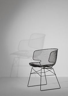 :: FURNITURE :: adore the lines of the arkys chair designed by the mastermind Jean Marie Massaud. Available through Eumenes. For spaces that are small, this chair visually doesn't consume space while provides the perfect proportions and curves for comfort.  #chairs #furniture #JeanMarieMassaud