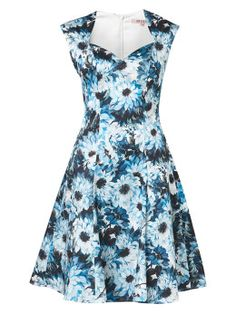 Empire Floral Dress