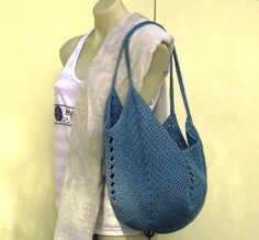 Solid Granny Square Bottom Bag - free pdf and of course there is a video link.  More bags here too