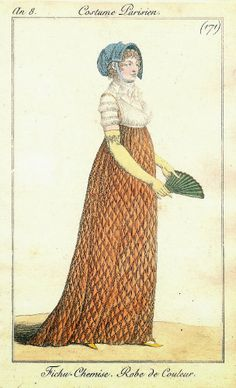 1799/1800 Costume Parisien No.171 Robe de Couleur