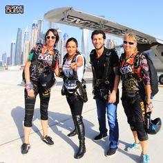 Michelle Rodriguez, Fast and Furious and Skydiving in #Dubai! #SkydiveDubai #Movies #Music #Celebrities #MiddleEast