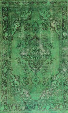 Orientteppich  Vintage modern Handgeknüpft  perser 317 x 197 tapis orient