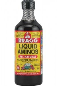 A lot of the hCG diet recipes call for this all natural seasoning. Be sure to have Bragg's Aminos on hand. It will make your food taste a lot better.