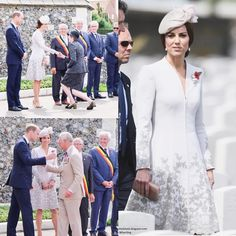 Day two in Belgium saw the Duke and Duchess of Cambridge attend commemorations at the Commonwealth War Graves Commission's Tyne Cot Cemetery to mark the centenary of the first day of Passchendaele. via ✨ @padgram ✨(http://dl.padgram.com)