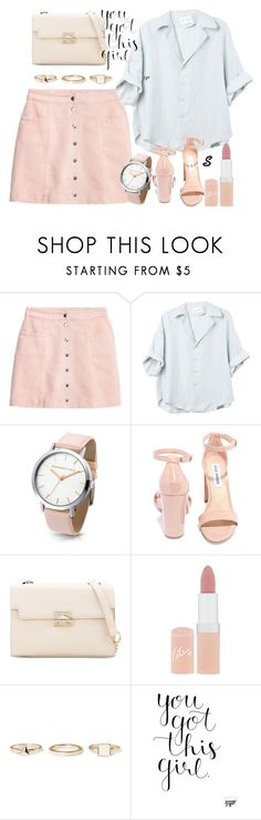 """""""Без названия #936"""" by sabina-127 ❤ liked on Polyvore featuring Steve Madden, Rimmel and Warehouse"""