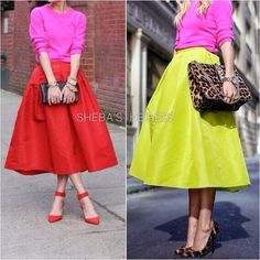 Check out our Anastacia Ball Gown Skirt! Comes in 11 fab colors! Only at ShebasHeiress.com! #fullskirt #fallfashion #50sskirt