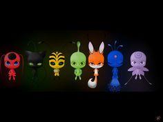 Someone drew this on the computer Lady Bug, Miraculous Ladybug Youtube, Tikki Y Plagg, Ladybug E Catnoir, Los Miraculous, Chibi Kawaii, Miraculous Ladybug Wallpaper, Fantasy Art, Anime